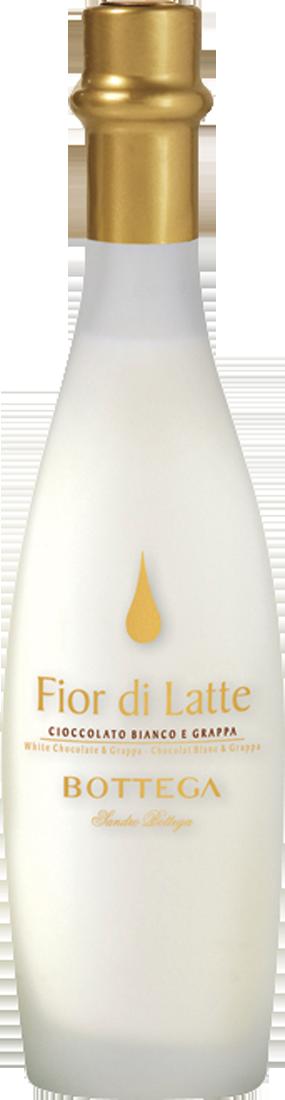 Distilleria Bottega Weißer Schokoladen-Likör Fior di Latte 15% vol. 0,2l Venetien 42,45? pro l