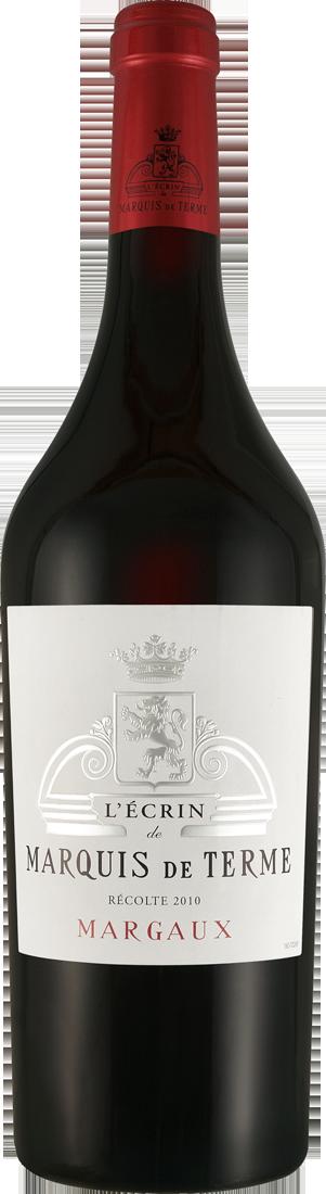 Rotwein LÉcrin de Marquis de Terme Margaux AOC Bordeaux 52,00? pro l