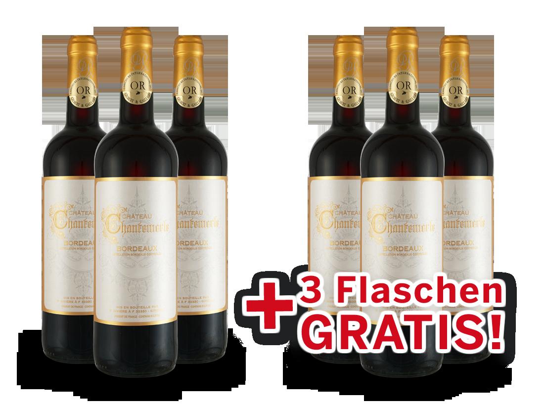 Maison Rivière Vorteilspaket 6 für 3 Château Chantemerle Bordeaux8,66€ pro l