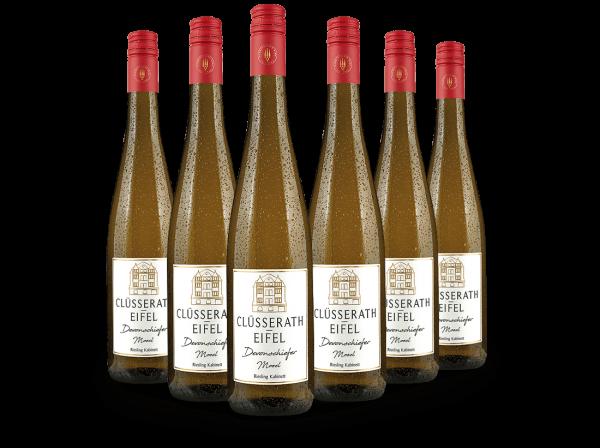 Probierpaket Clüsserath Devonschiefer Mosel Riesling Kabinett mit 6 Flaschen