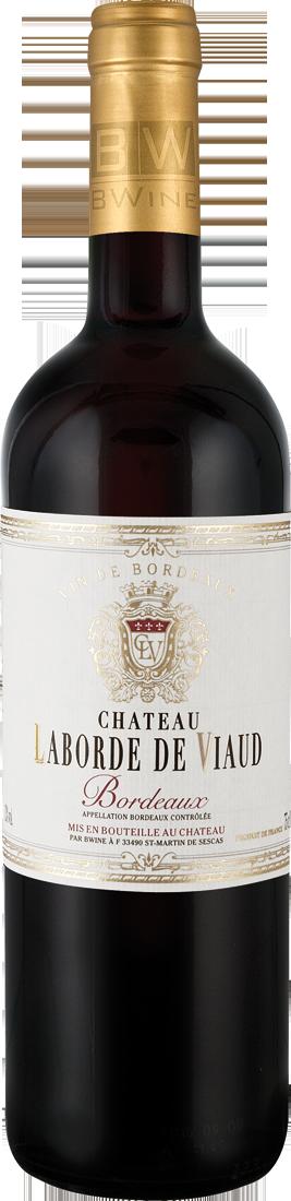 Rotwein Château Laborde de Viaud Bordeaux AOC Bordeaux 9,99? pro l