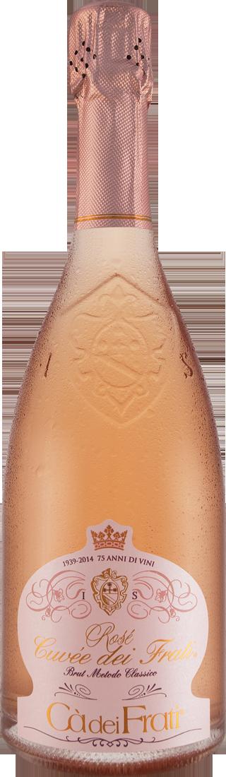 Roséwein Cà dei Frati Rosé Cuvée dei Frati Spumante Brut VSQ Metodo Classico Lombardei 30,53€ pro l