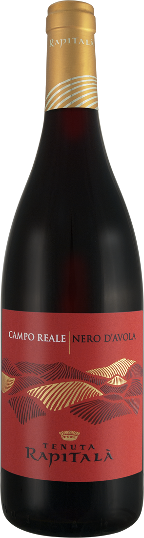 Rotwein Tenuta Rapitalà Nero d´Avola Campo Reale Sicilia DOC Sizilien 10,25? pro l