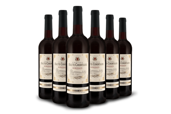 Vorteilspaket Château Haute Courtiade Bordeaux AOC mit 6 Flaschen