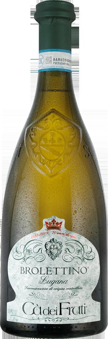 Weißwein Cà dei Frati Brolettino Lugana DOC Lombardei 19,99€ pro l