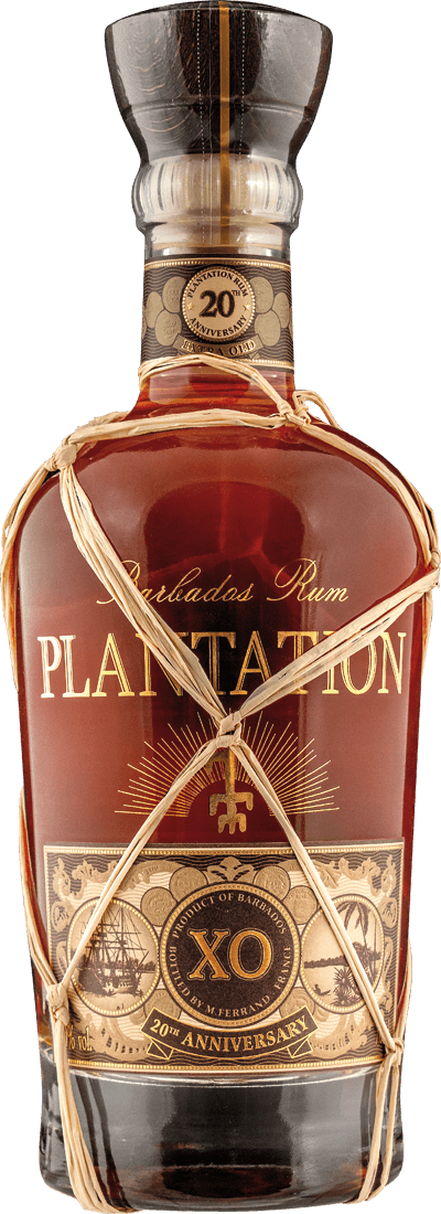 Barbados X.O. Plantation RUM - 20th Anniversary 40% vol.61,41€ pro l