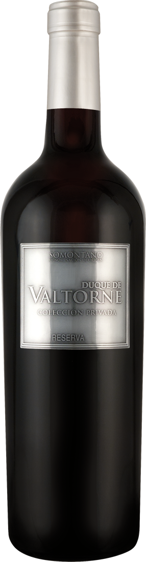 Rotwein Bodega Sommos Duque de Valtorne Colección Privada Reserva D.O. Somontano 11,99€ pro l