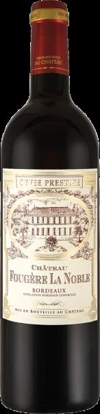 Château Fougère La Noble Cuvée Prestige Bordeaux AOC