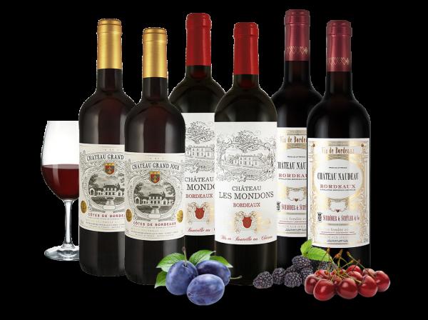 Weingenuss von kleinen Châteaux