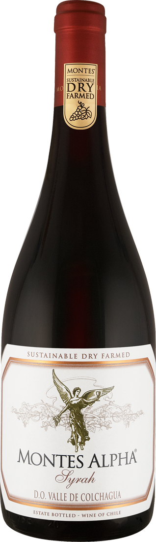 Rotwein Montes Alpha Syrah Colchagua Valley 17,60€ pro l