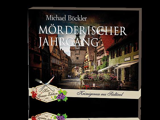 Hörbuch-CDs 'Mörderischer Jahrgang' von Michael Böckler