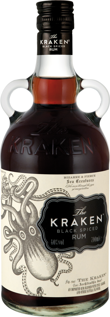 The Kraken Rum Black Spiced28,27€ pro l
